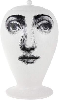 Fornasetti Buongiorno-Buonanotte Ceramic Vase - Craquele
