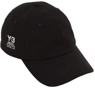 Y-3 Y 3 Dad Cotton Blend Baseball Hat