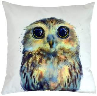 "Versailles Home Fashions VHF Hibou 18""x18"" Indoor/Outdoor Toss Pillow"