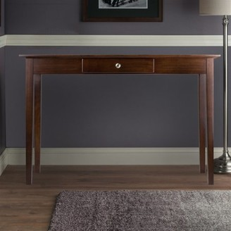 Winsome Wood Rochester Console Table with Drawer, Walnut Finish