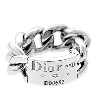 Christian Dior HERITAGE  18K Chain Link Ring