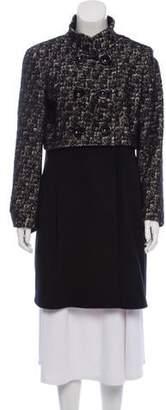 Cinzia Rocca Knee-Length Virgin Wool Coat