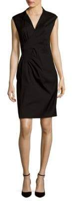 Lafayette 148 New York Elsa Sleeveless Pleated Dress