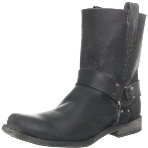 Frye Men's Smith Harness Stone Wash Boot