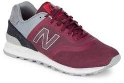 New Balance Mixed Media Suede Sneakers