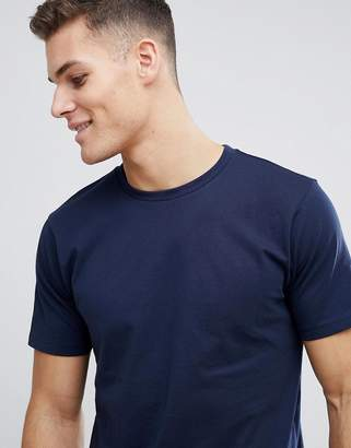 Next Crew Neck T-Shirt In Navy