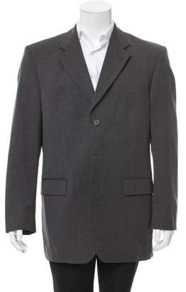 Saint Laurent Wool Three-Button Blazer