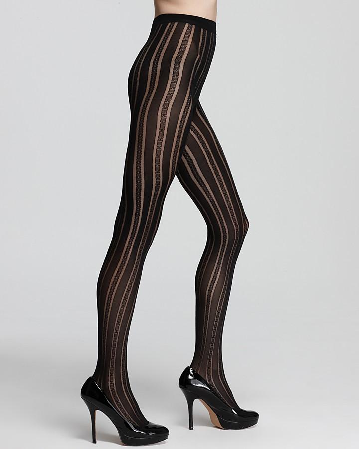Falke Ornamental Stripe Tights