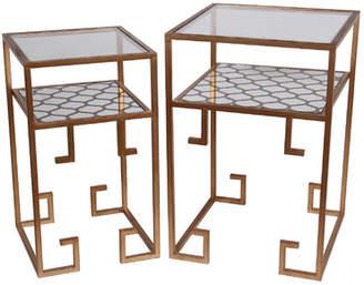 Willa Arlo Interiors Gryselda 2 Piece End Table Set