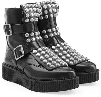 Marc by Marc Jacobs Embellished Ankle Boots $698 thestylecure.com