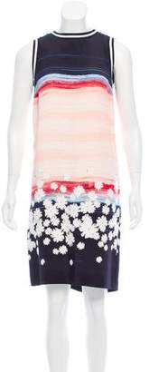 Mother of Pearl Mother-of-Pearl Printed Silk Dress