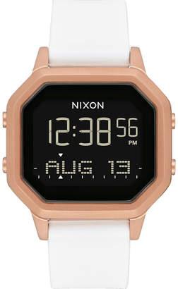 Nixon Siren SS Rose Gold & White Watch