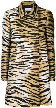 RED Valentino tiger printed coat
