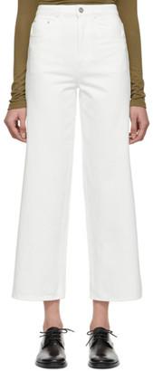 Totême White Flair Jeans