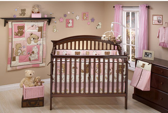 Little Bedding Dreamland Teddy 10 Piece Crib Bedding Set $119.99 thestylecure.com