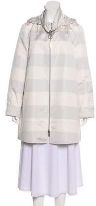 Akris Punto Reversible Hooded Jacket