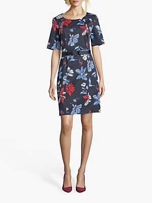 Betty Barclay Alissa Floral Dress, Purple/Multi