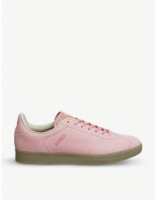 adidas Gazelle Decon leather trainers