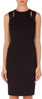 Akris Punto Cutout Jersey Dress