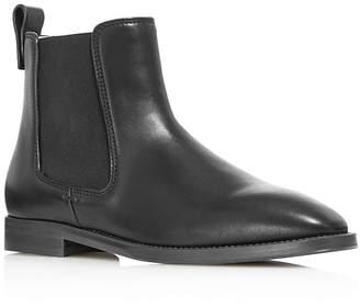Stuart Weitzman Women's Atom Leather Chelsea Booties