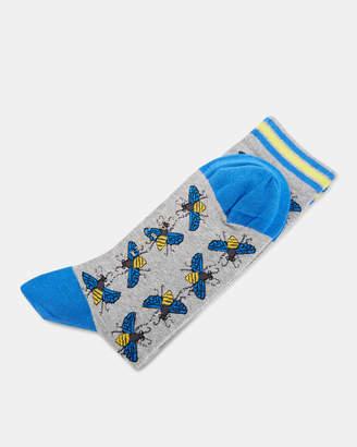 Ted Baker BILBERY Bee print cotton socks