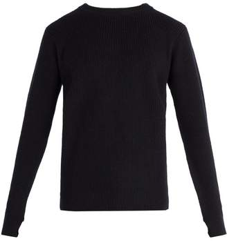 Barena Venezia - Crew Neck Wool Sweater - Mens - Navy