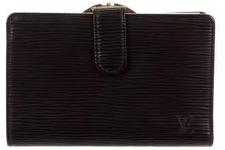 Louis Vuitton Epi French Purse Wallet Metallic Epi French Purse Wallet