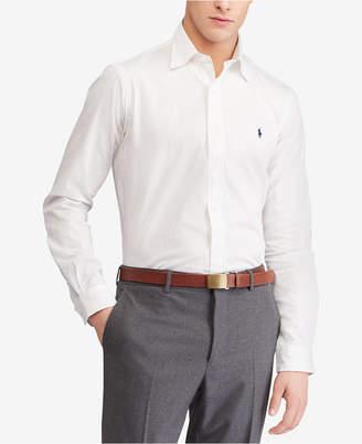 Polo Ralph Lauren Men's Big & Tall Striped Standard Fit Shirt