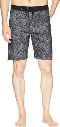 "Hurley Men's Apparel Men's Floral 20"" Recycled Supersuede Pupukea Boardshort"