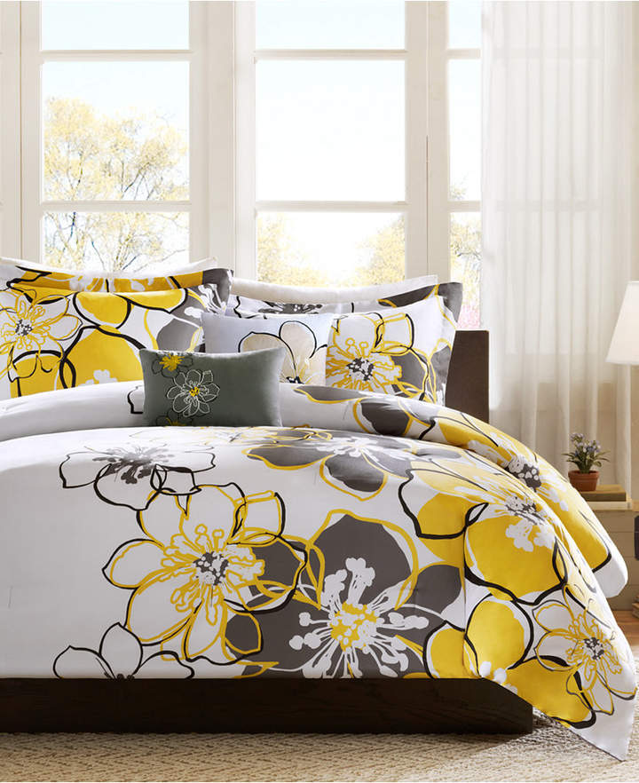 Mi Zone Allison 4-Pc. Full/Queen Comforter Set Bedding