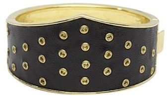 House of Harlow 1960 Gladiator Cuff in Black-!