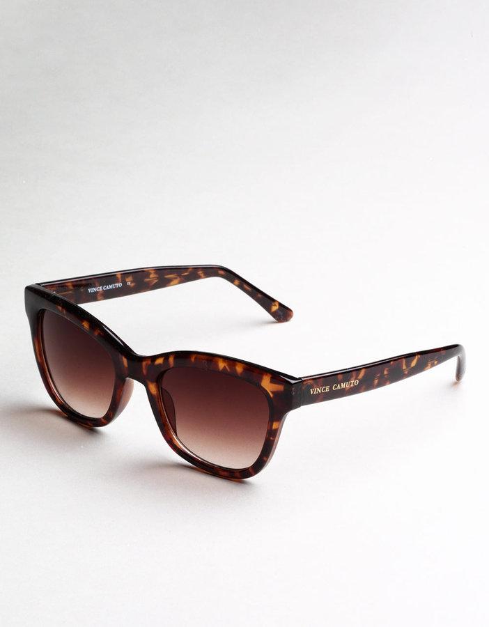 VINCE CAMUTO Tortoise Cat-Eye Sunglasses