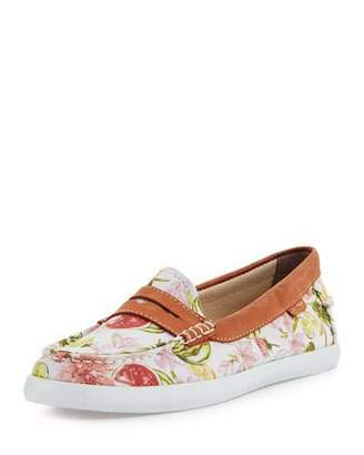 Cole Haan Pinch Weekender Floral Loafer, White $90 thestylecure.com
