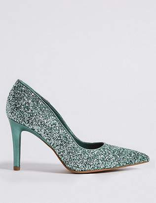 Marks and Spencer Stiletto Heel Pointed Court Shoes