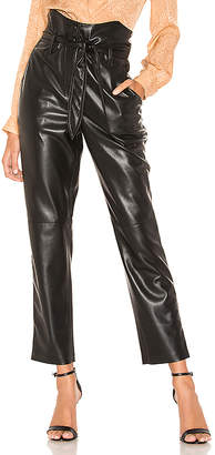 31010f7f6330 Nanushka Ethan Vegan Leather Pant