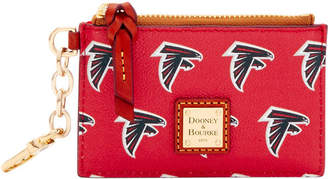 Dooney & Bourke NFL Falcons Zip Top Card Case