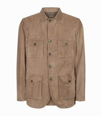 Brunello Cucinelli Safari Suede Jacket