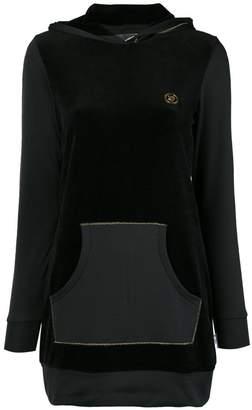 DAY Birger et Mikkelsen Plein Sport logo hooded dress