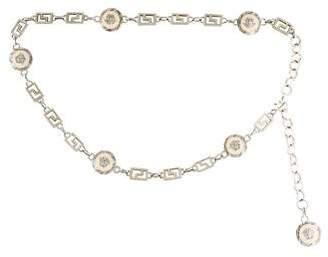 Versace Medusa Chain-Link Belt