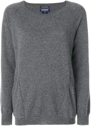 Woolrich cashmere pocket jumper