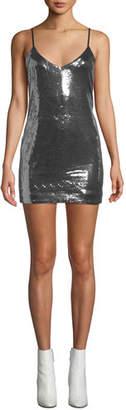 RtA Bijoux Sequined Cami Mini Dress