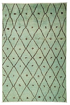Moroccan Area Rug, 5'10 x 9'1