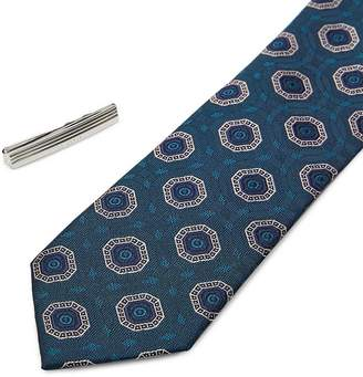 Ted Baker Worset Tie Bar & Skinny Tie Gift Set