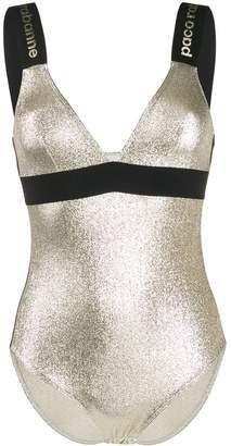 Paco Rabanne contrasting strap body