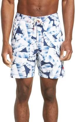 Tommy Bahama Baja Deco Fronds Classic Fit Swim Trunks