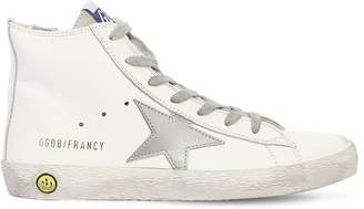 Golden Goose Francy Leather High Top Sneakers