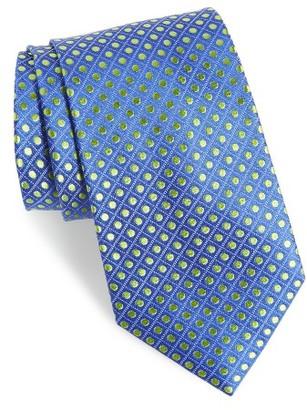 Men's Nordstrom Men's Shop Boardwalk Dot Silk Tie $49.50 thestylecure.com