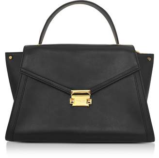 Michael Kors Whitney Large Leather Satchel