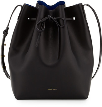 Mansur Gavriel Vegetable-Tanned Leather Bucket Bag