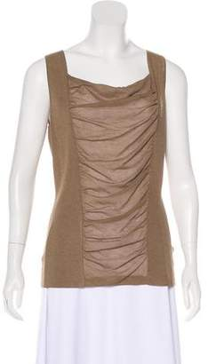 Lafayette 148 Cowl Neck Sleeveless Top w/ Tags